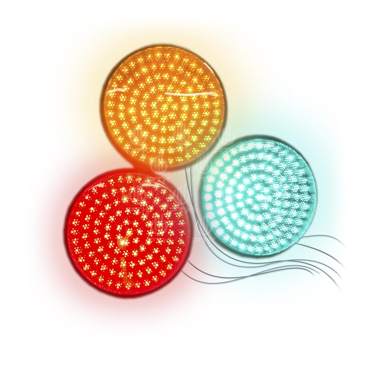 Светоблоки для светофоров D300 красный жёлтый зелёный